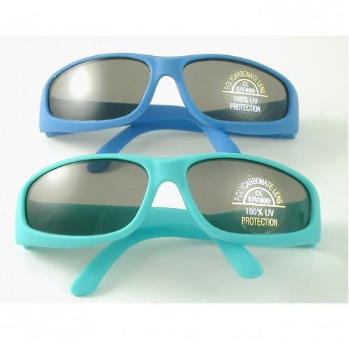 Sunglasses - Lollipop UV 400  Blue Rubber Sunglasses (top on the photo)  - sale