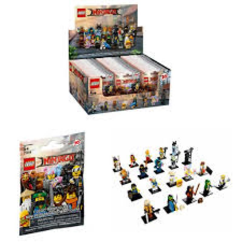 Toy Lego Ninjago Movie Minifigures 71019