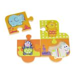Toy - BoiKido  - Jungle Double Puzzle - 12m plus