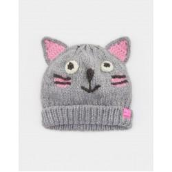 Hat - Joules Girls Chum - Cat - s/m  (3-7y)