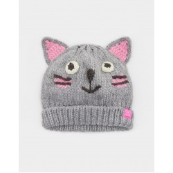 Hat - Joules Girls Chum - Cat - S/m  3-7y -  1 left now in sale