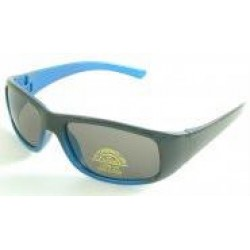 Sunglasses - Lollipop UV 400 Two Tone Blue Sunglasses - 4 - 8 yr - sale