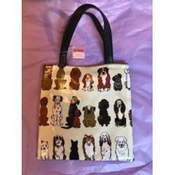 Bag - Kids  bag with  DOGS  print  - sale