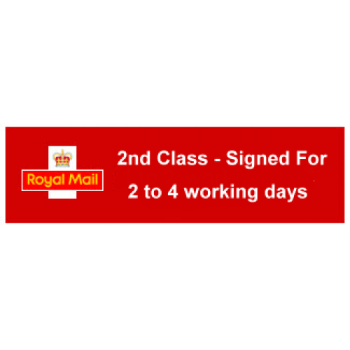 Postage - 2nd class signed for - to be added to the orders already made