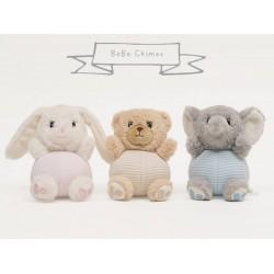 Chime - bear, bunny or elephant - CHOICE of one