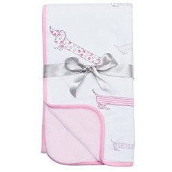 Blanket  -  Bubble Puppy Love Quilted Bamboo Dream Blanket  - sale
