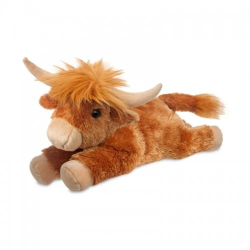 Toys - Soft Toys - Highland Cow  12nch