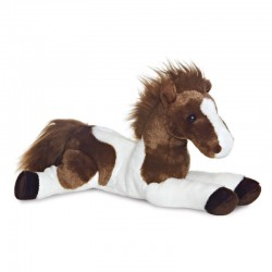 Toys - soft toys - Horse - Brown and white