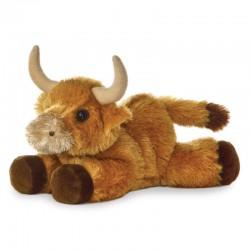 Toys - Soft Toys -  Mac Bull - 8inch - farm animals