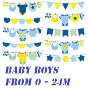 BABY BOYS   - SALE ( 0 - 24m )  (254)