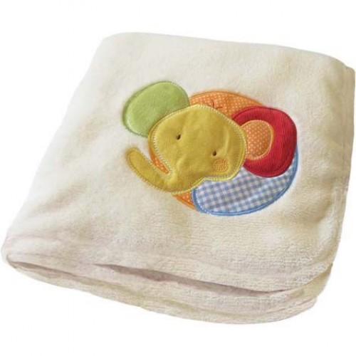 Blanket  -  Soft Fleece Baby blanket - Elephant  - sale