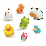Toy - bath toy - Squirtin' Farmyard Friends - 8 Pack