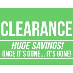 -45% OFF LAST ITEM - CLEARANCE - NO RETURN