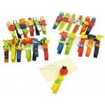 Toys - Wooden Pegs  5 pieces in a pack - randomly chosen