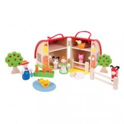 Toys - Mini Farm Playset
