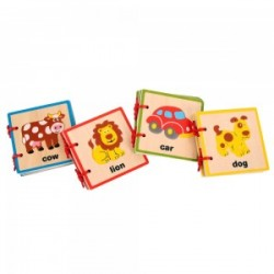Toys - Baby Books - wooden