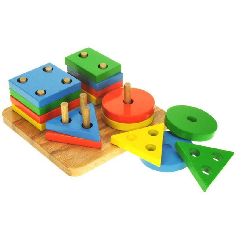 Toys - First Four Shape Sorter