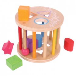 Toys - Big Jigs - Rolling  Shape sorter - 12 months plus - sale - lightened box from window display  - sale