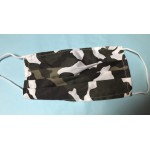 Mask - Face masks PPE - White and Green camouflage - 7 left