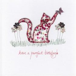 Card - Cat - Happy birdthay