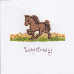 Card - Horse - Happy birthday