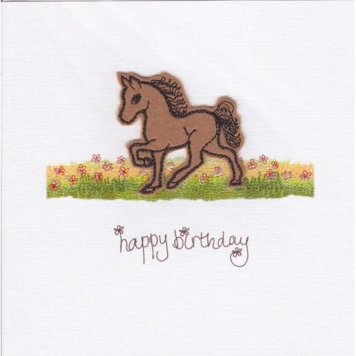 Card - Horse - Happy birthday