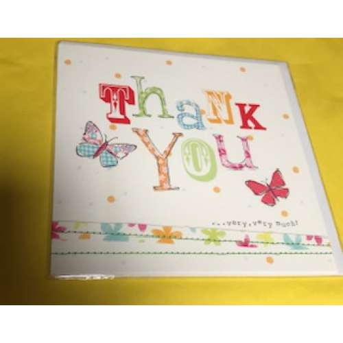 CARDS - Thank you - Very very much - sale