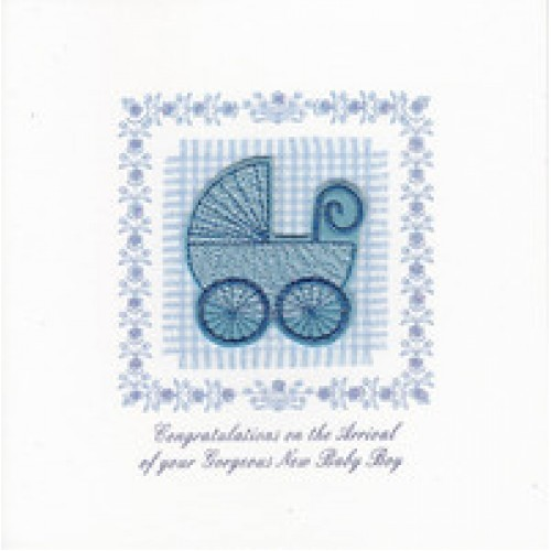 Gift - Card - Baby Boy - Hand made