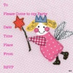 Gift - Card Pack - Fairy Invitation