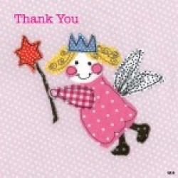 Gift - Card Pack - Fairy Thank you