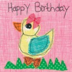 Gift - Card - Birthday Duck