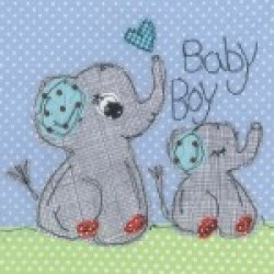 Gift - Card - Boy Elephant