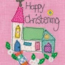 Gift - Card - Girls Church Christening