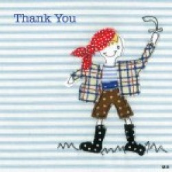 Gift - Card Pack - Pirate Thank you