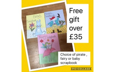 Free gift over £35
