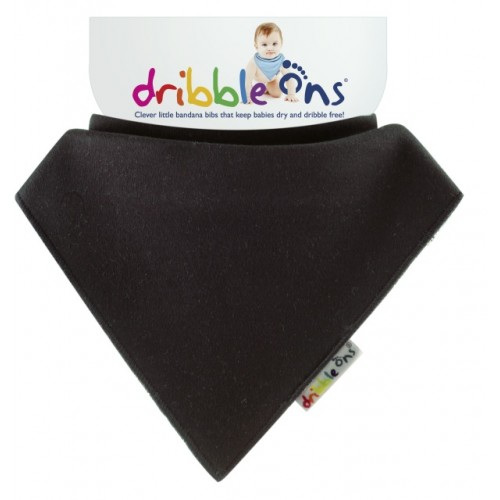 Dribble Ons - Bandana Bib - Black