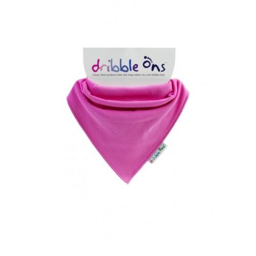 Dribble Ons - Bandana Bibs - Fuchsia