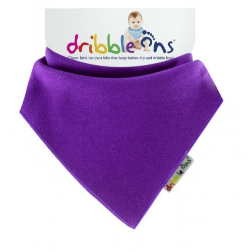 Dribble Ons - Bandana Bib - Grape Purple
