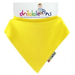 Dribble Ons - Bandana Bib - Lemon