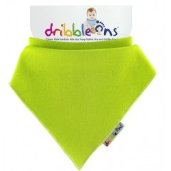 Dribble Ons - Bandana Bib - Lime green