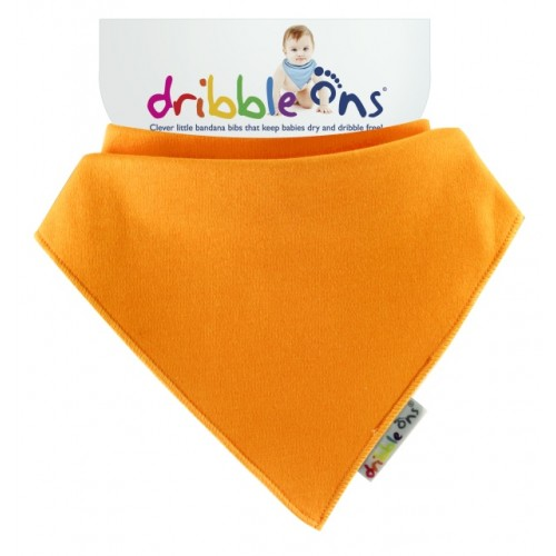 Dribble Ons - Bandana Bib - Orange
