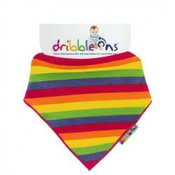 Dribble Ons - Bandana Bibs - Designer Rainbow