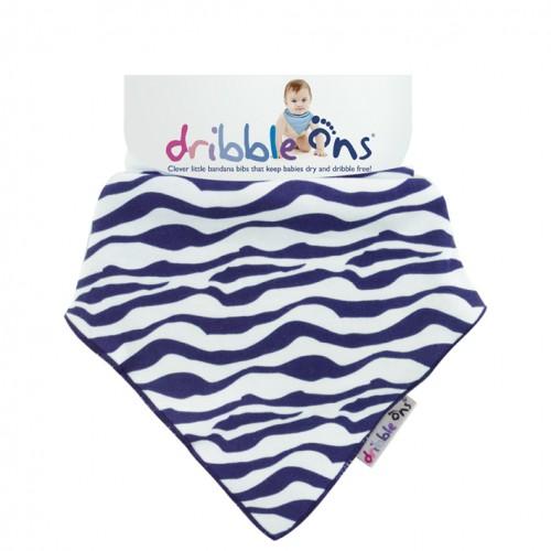 Dribble Ons - Bandana Bibs - Zebra Stripe
