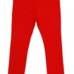 Leggings - DUNS - organic cotton - More Than a Fling - Leggings in red- size   1-2, 4-6y  - sale