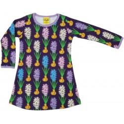 Dress -  DUNS - Hyacinth Dark  Purple -  Long sleeve - 80 ( 9-12m) , 86 ( 12-18m), 92 (18-24m),98 ( 2-3yr)  - sale