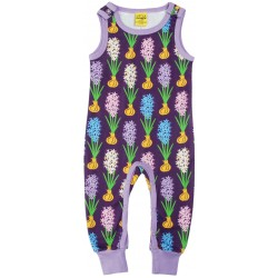 DUNS - Dungarees  - Winter 18 -  Hyacinth Dark Purple -  size  74 (6-9m)   - last item -45% clearance sale