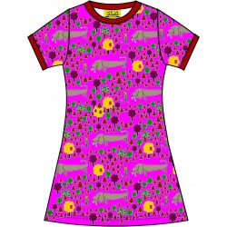 Dress -  DUNS - A dogs Life Red - Short Sleeve Dress - 122 (6-7yr),  128 (7-8yr), 134  (8-9yr) sale