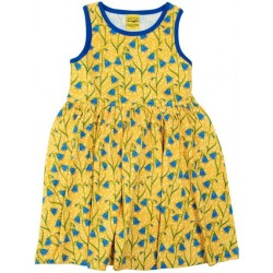 DUNS - Dress -  Bluebell - Sleeveless with gathered skirt -  size 68  (6m) - last one -sale