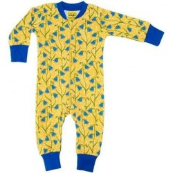 DUNS - Babygrow - Zipped -  Bluebells - 56 (1m), 62 (2-4m),  68 (6m) - sale