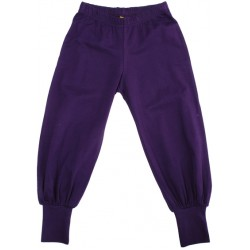 DUNS - Pants - Baggy in Grape Purple - 62/68 - 2-6m - last one -  sale